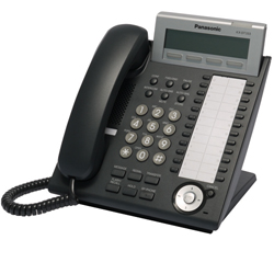 KX-DT333 Phone in black